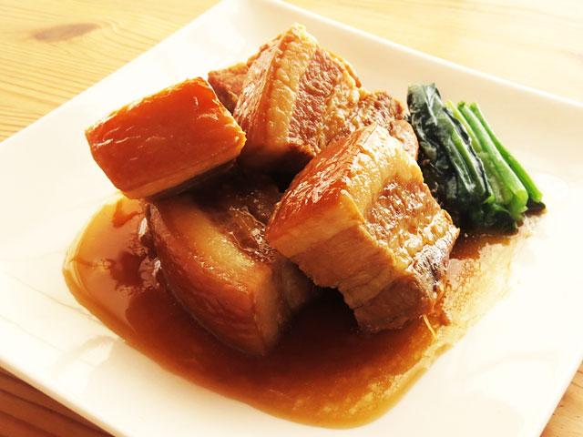 やわらかい豚の角煮