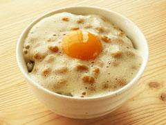 クリーミー納豆の卵かけご飯