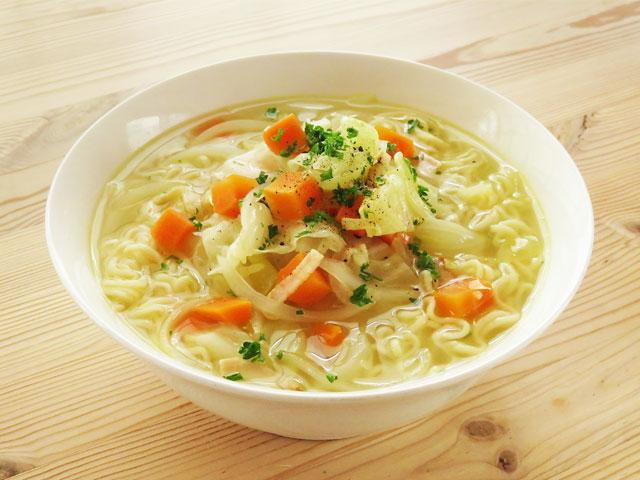 ラーメン スープ アレンジ